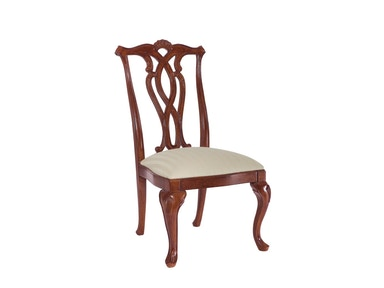 American Drew Dining Room Pierced Back Side Chair-KD
