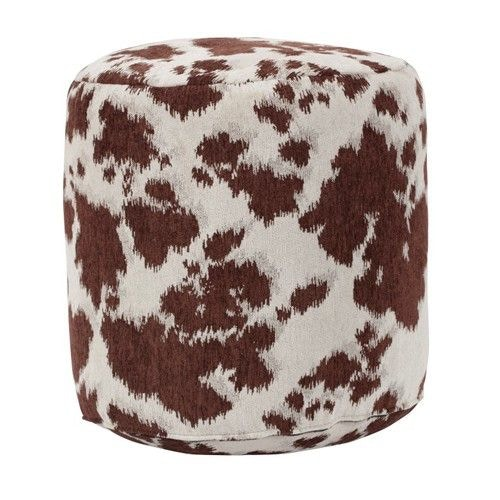 Ordinaire American Furniture Classics Brown Cow Udder Madness Pouf Ottoman 320