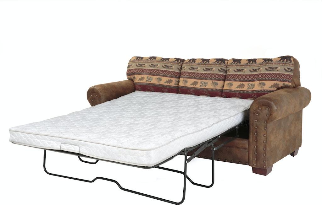American Furniture Classics Living Room Alpine Lodge - Sleeper Sofa ...