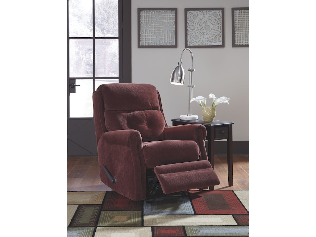 Signature Design By Ashley Living Room Glider Recliner 1880327 Tate Furniture Phenix City