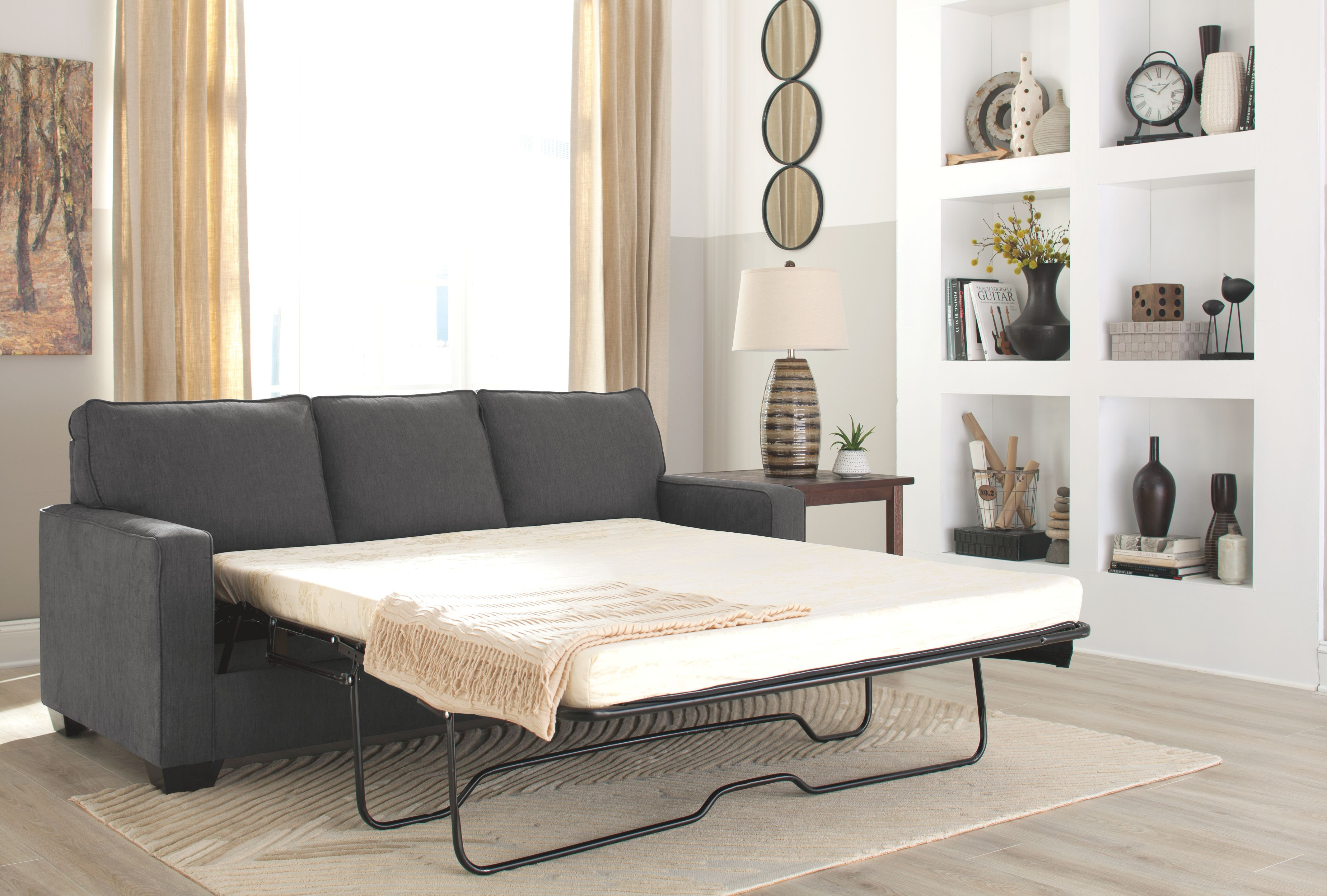 Signature Design by Ashley Living Room Queen Sofa Sleeper