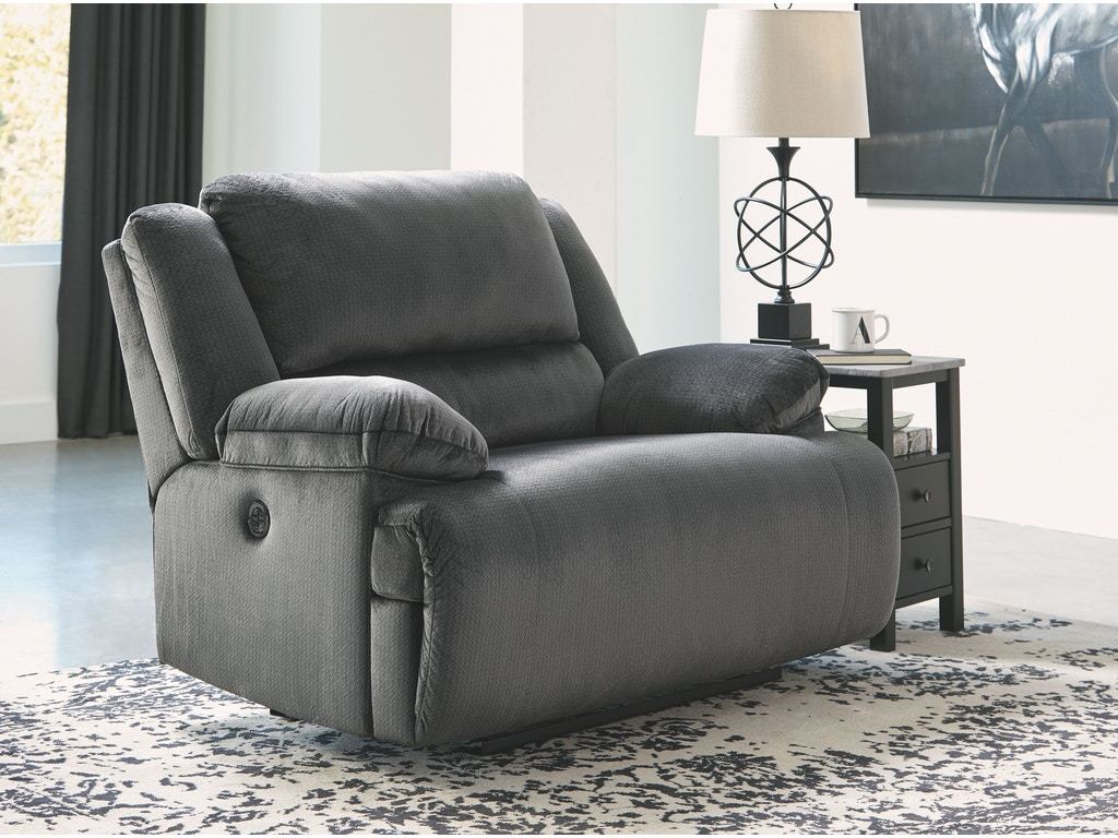 Living room zero wall wide seat recliner details the