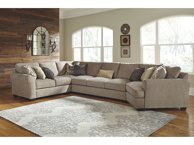 Signature Design By Ashley Living Room Wedge 3910277 Indiana Furniture And Mattress