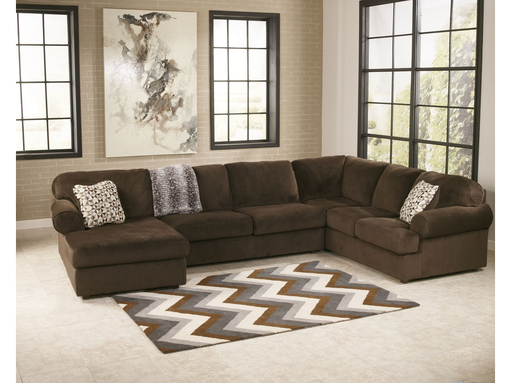 Signature Design By Ashley Living Room Laf Corner Chaise 3980416 Fiore Furniture Company