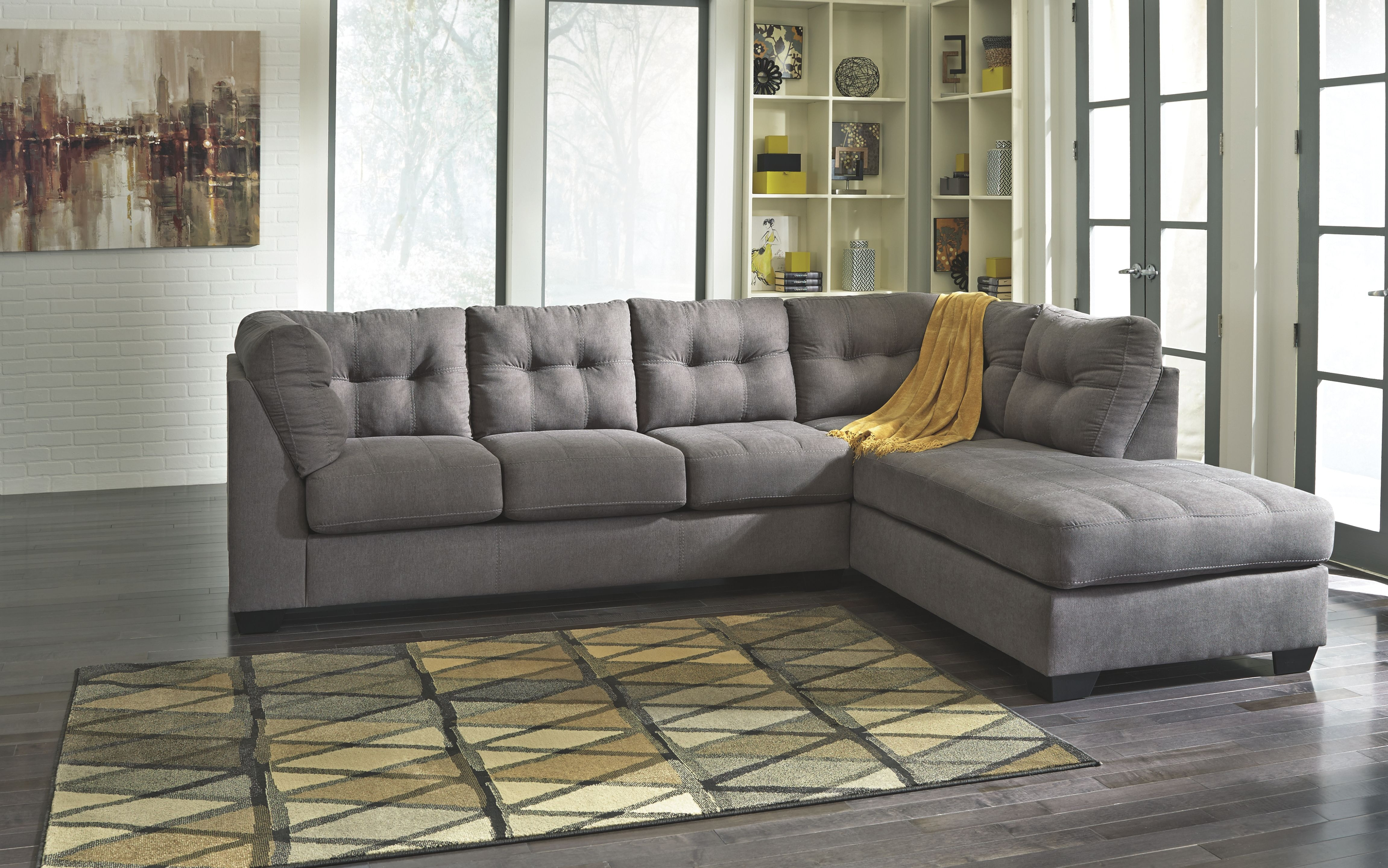 Signature Design by Ashley Living Room RAF Corner Chaise 4520017