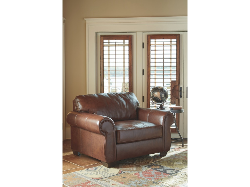 Signature Design By Ashley Living Room Chair And A Half 5060223 Everett 39 S Furniture South