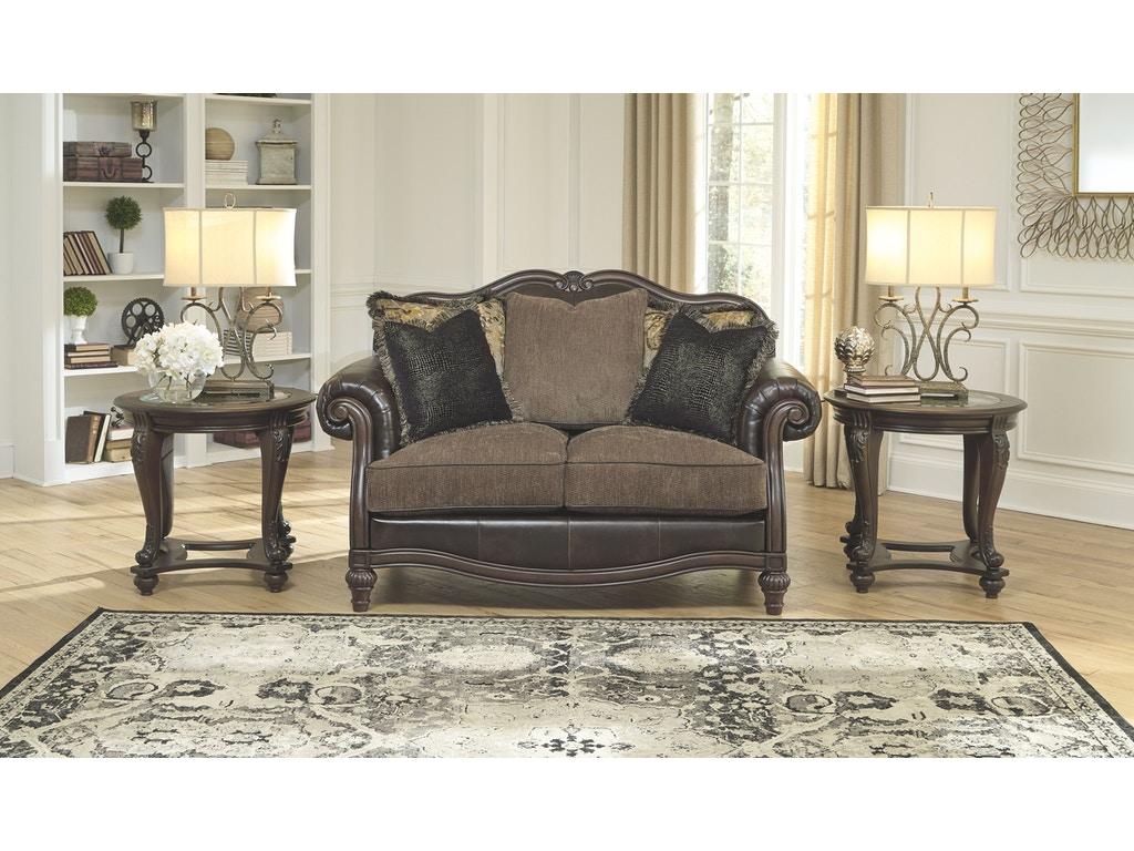 Signature Design By Ashley Living Room Loveseat 5560235 China Towne Furniture Solvay Ny