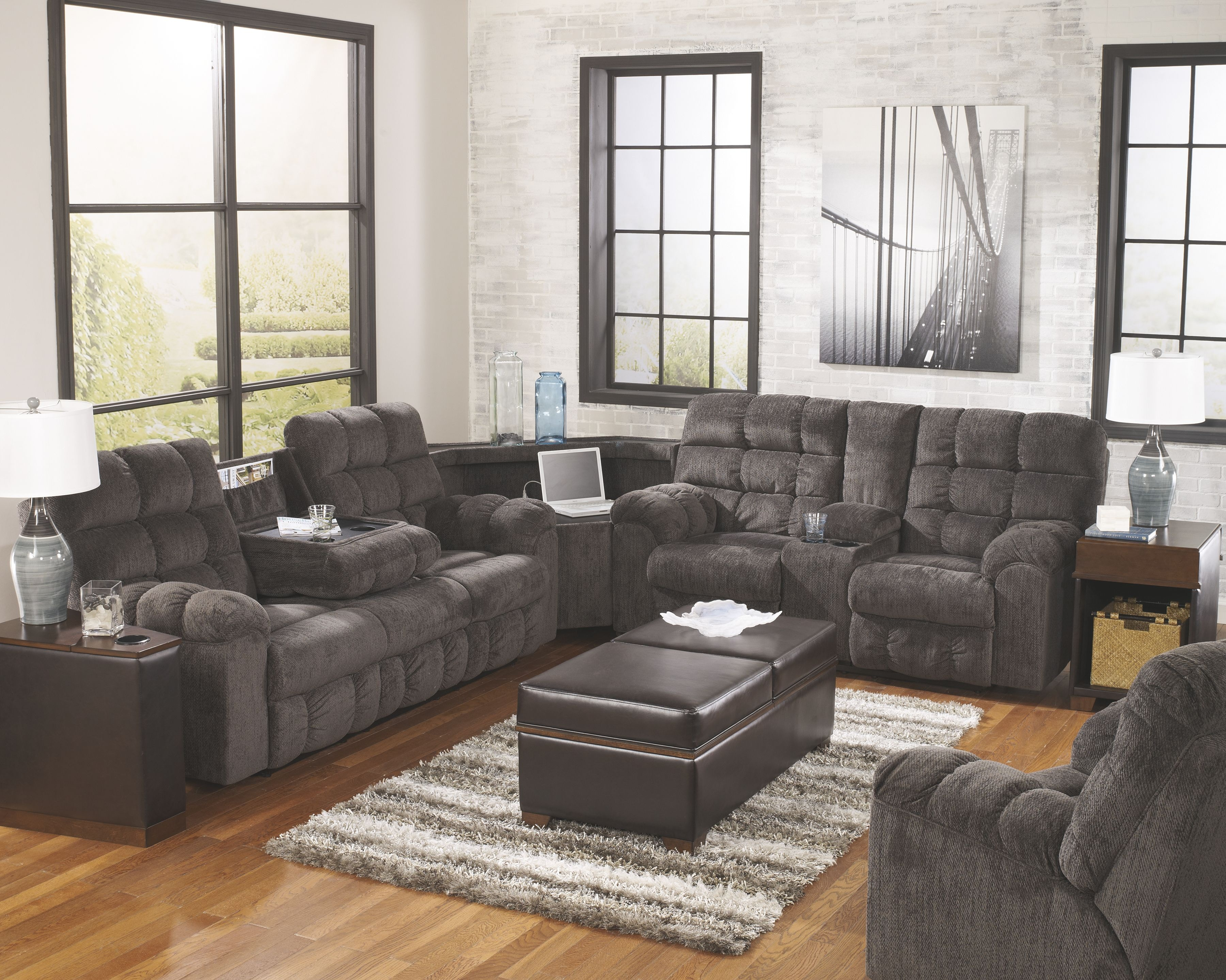 Furniture Stores Yuba City Signature Design By Living Room Wedge  000000917250