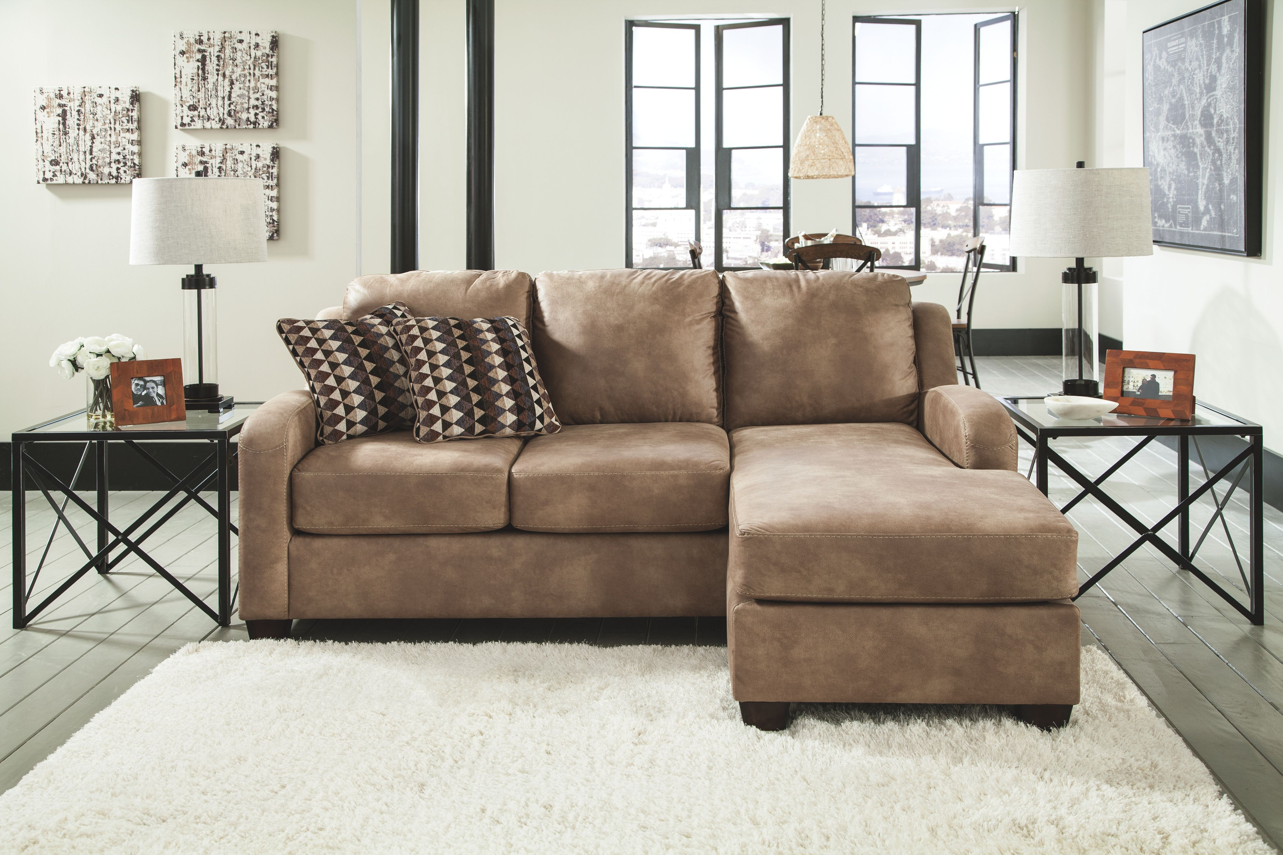 Signature Design by Ashley Living Room Sofa Chaise