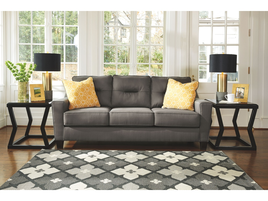 Signature Design By Ashley Living Room Sofa 6690238 Goldsteins Furniture Bedding Hermitage