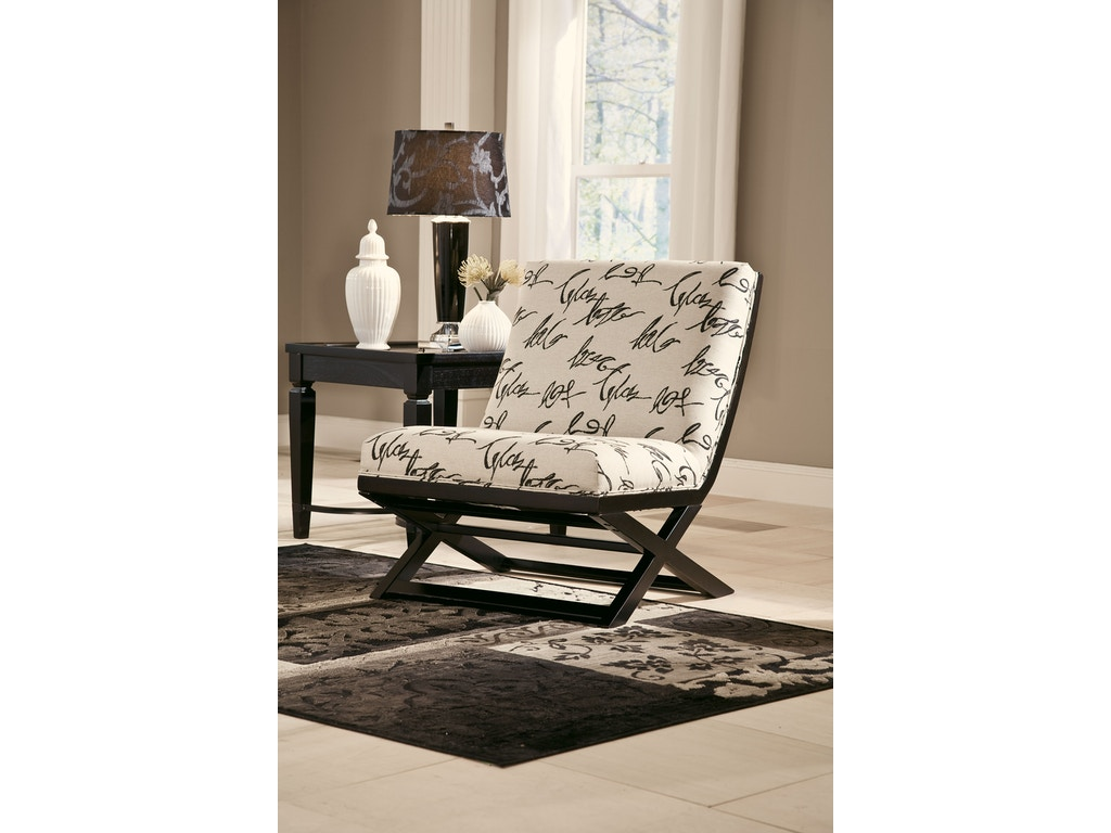 Signature Design By Ashley Living Room Showood Accent Chair 7340360 Furniture Plus Inc Mesa Az