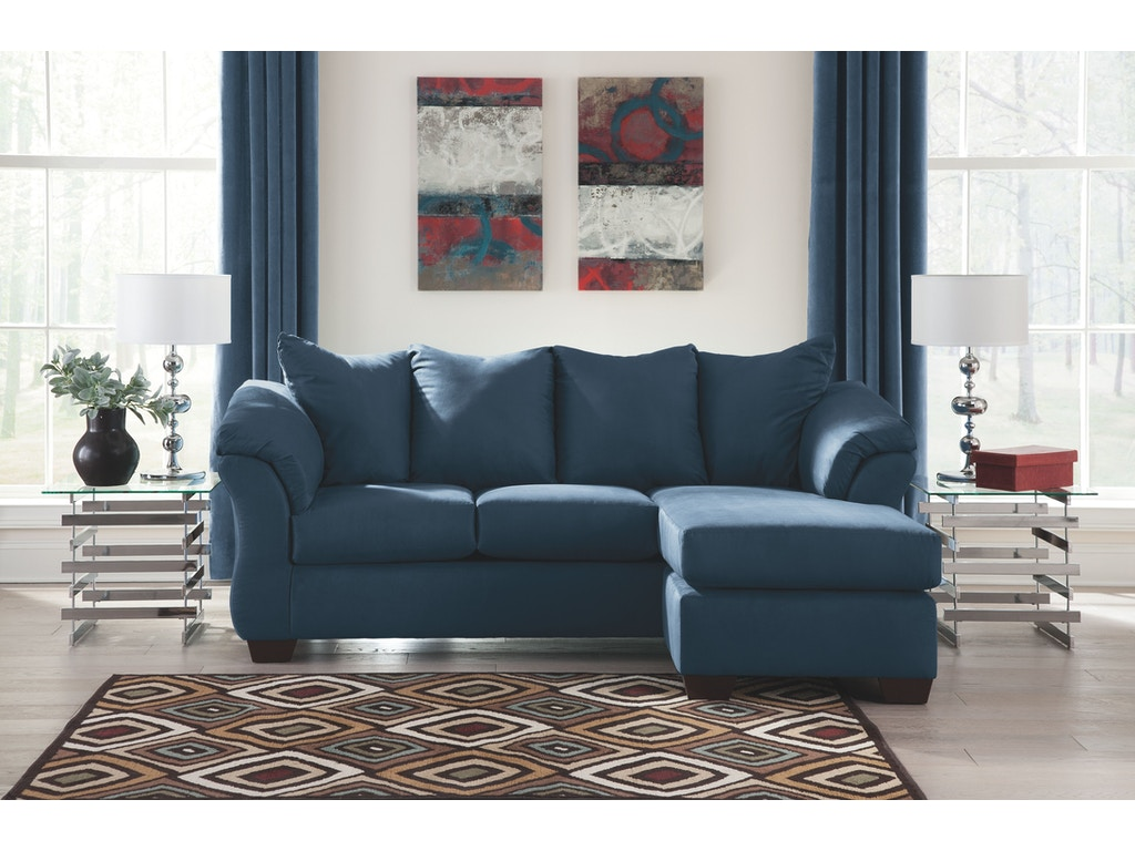 Signature Design By Ashley Living Room Sofa Chaise 7500718 A W Furniture Redwood Falls Mn