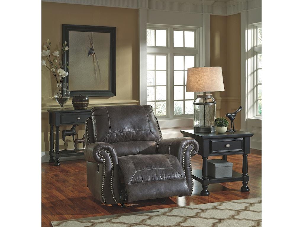 Signature Design By Ashley Living Room Rocker Recliner 8000425 Morris Furniture Company