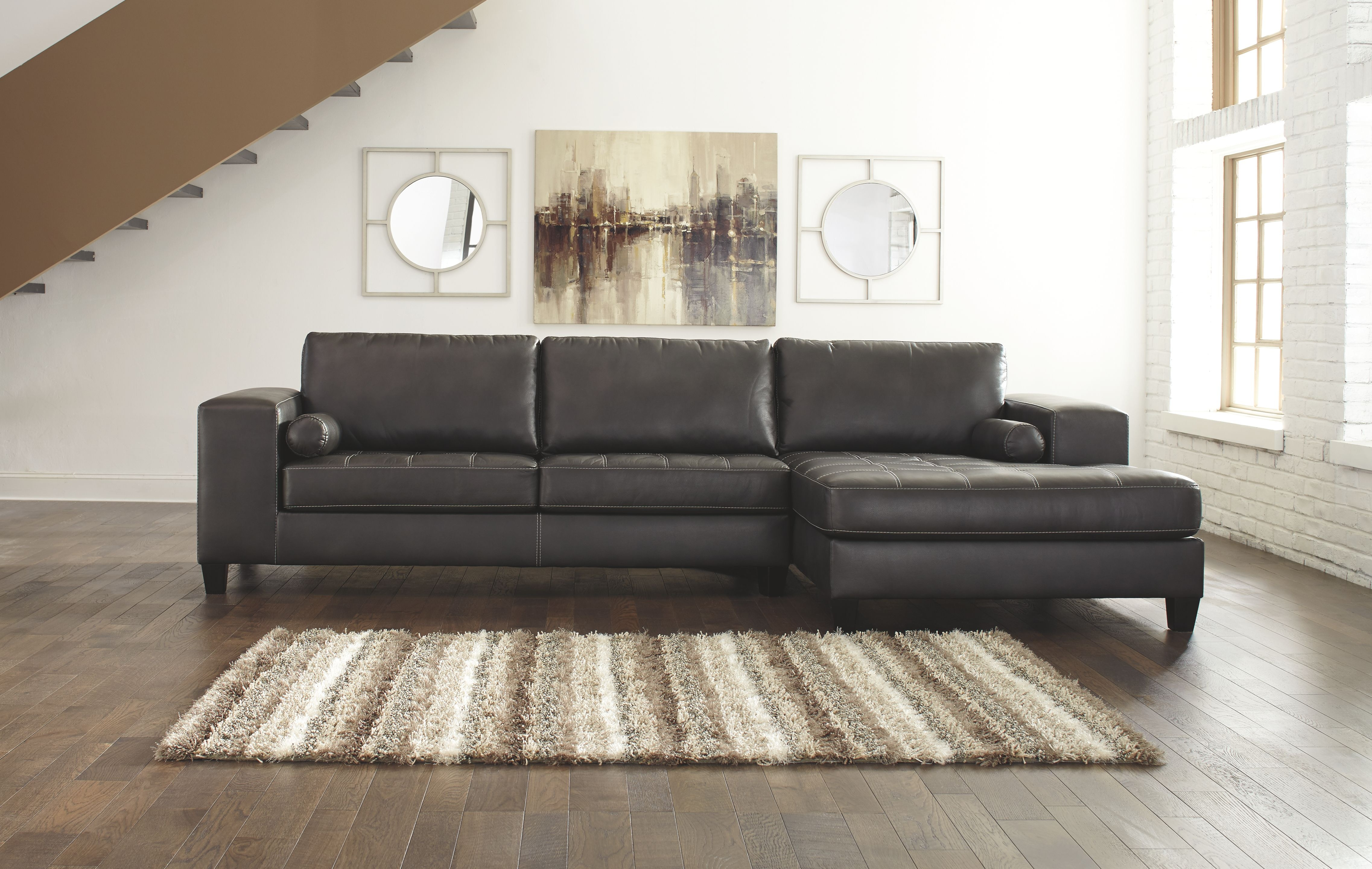 Signature Design by Ashley Living Room RAF Corner Chaise