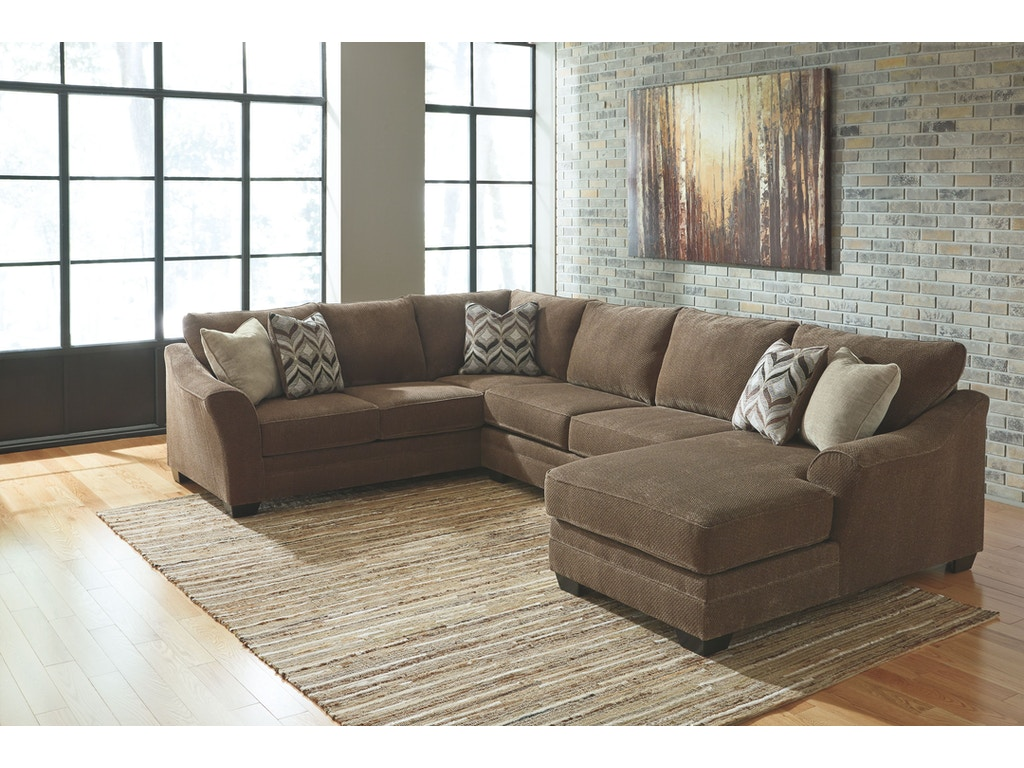 Signature Design By Ashley Living Room Armless Loveseat