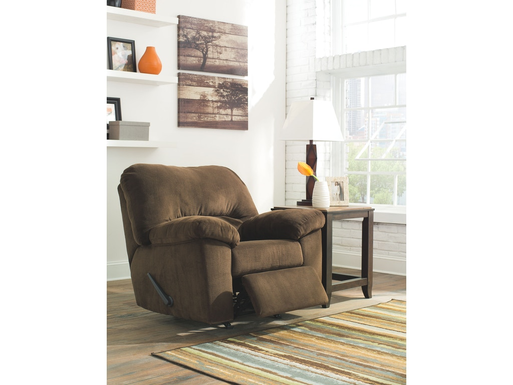 Signature Design By Ashley Living Room Rocker Recliner 9540325 Tate Furniture Phenix City
