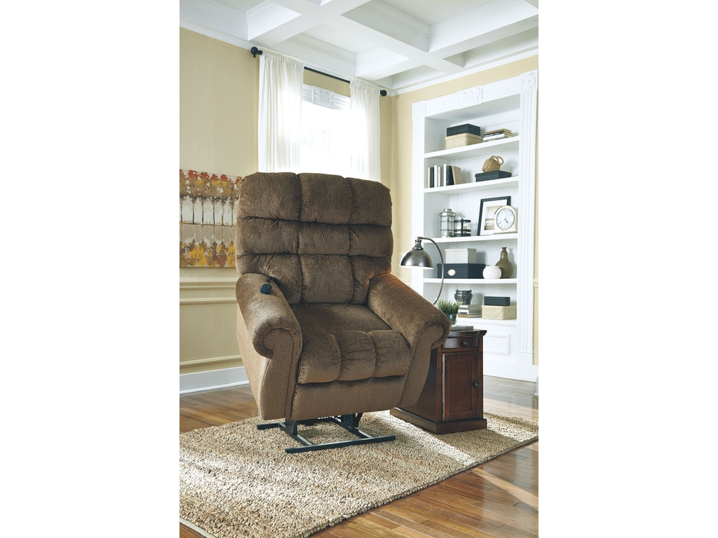 Signature Design By Ashley Living Room Power Lift Recliner 9760212 Hennen Furniture St