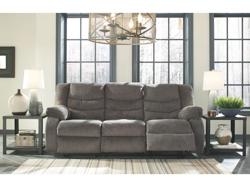 Signature Design By Ashley Living Room Reclining Sofa 9860688 Alpena Furniture Alpena Mi