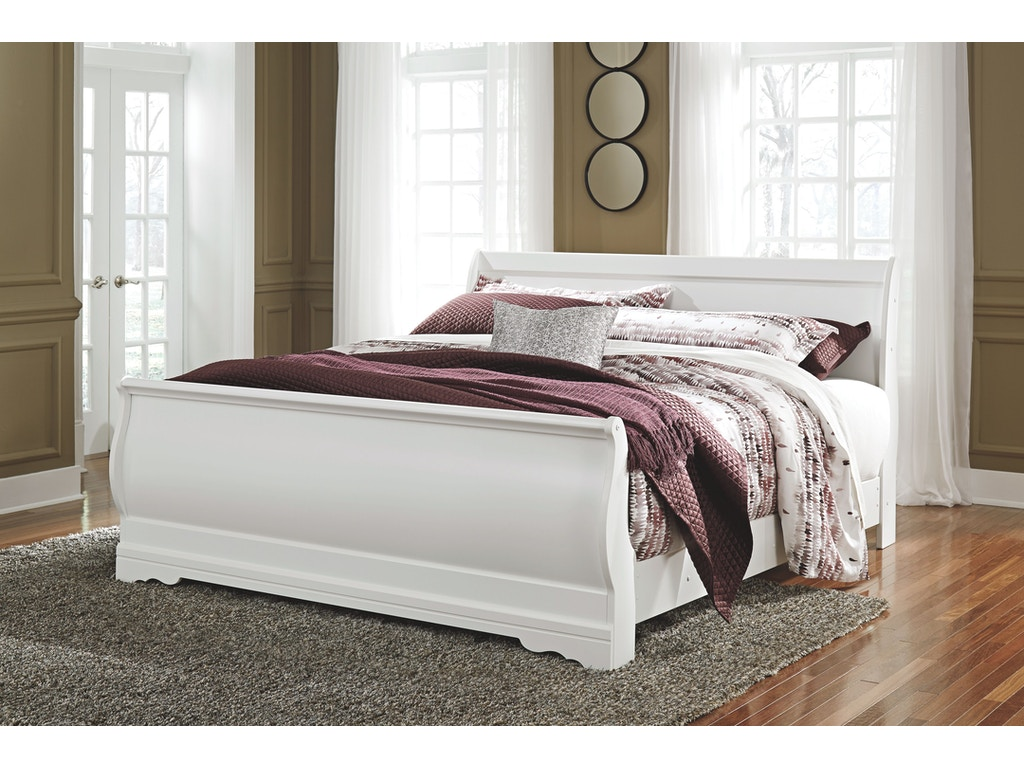 Signature Design by Ashley Bedroom King Sleigh Rails B129 97 A