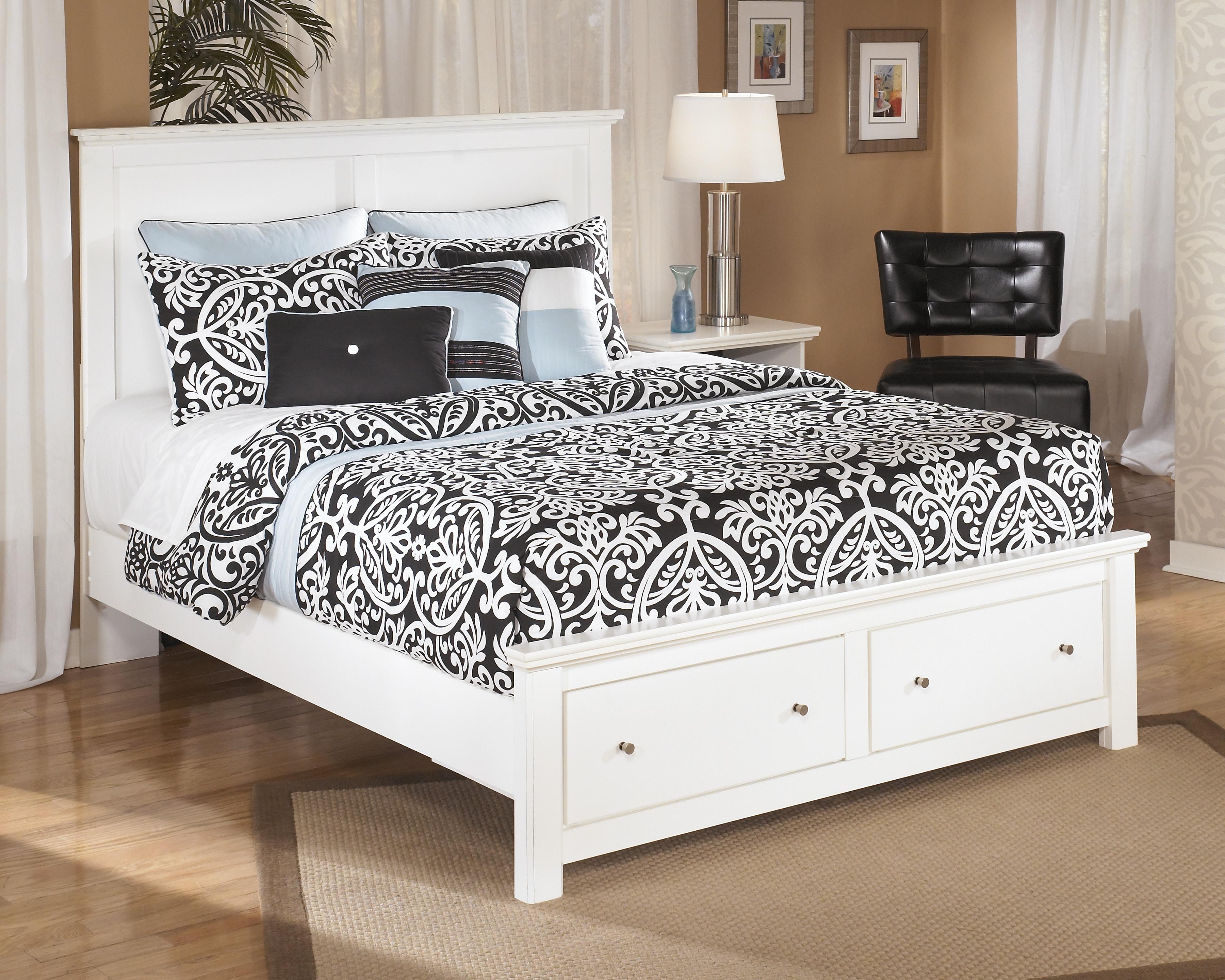 Signature Design By Ashley Bedroom Q Platform Storage