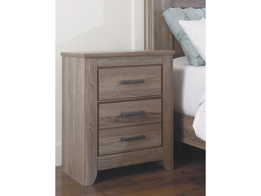 Signature Design By Ashley Bedroom Two Drawer Night Stand B248 92 Tip Top Furniture Freehold Ny