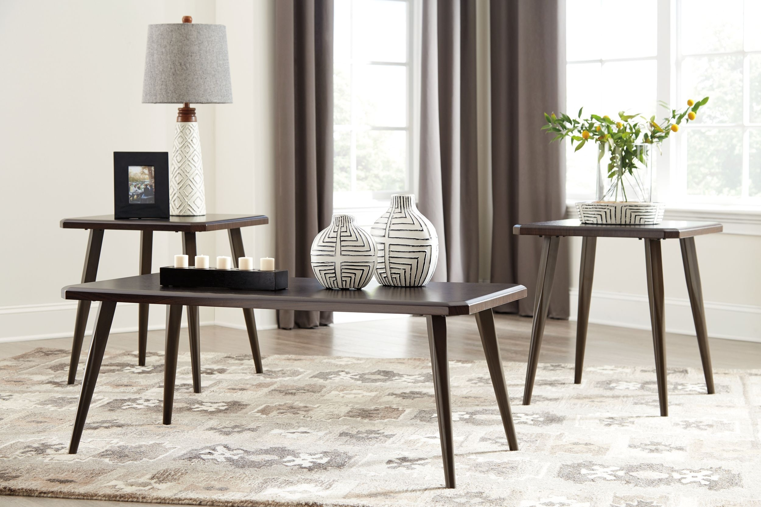Signature Design By Ashley Living Room Occasional Table Set (3/CN) T037 13    Winner Furniture   Louisville, Owensboro And Radcliff, KY