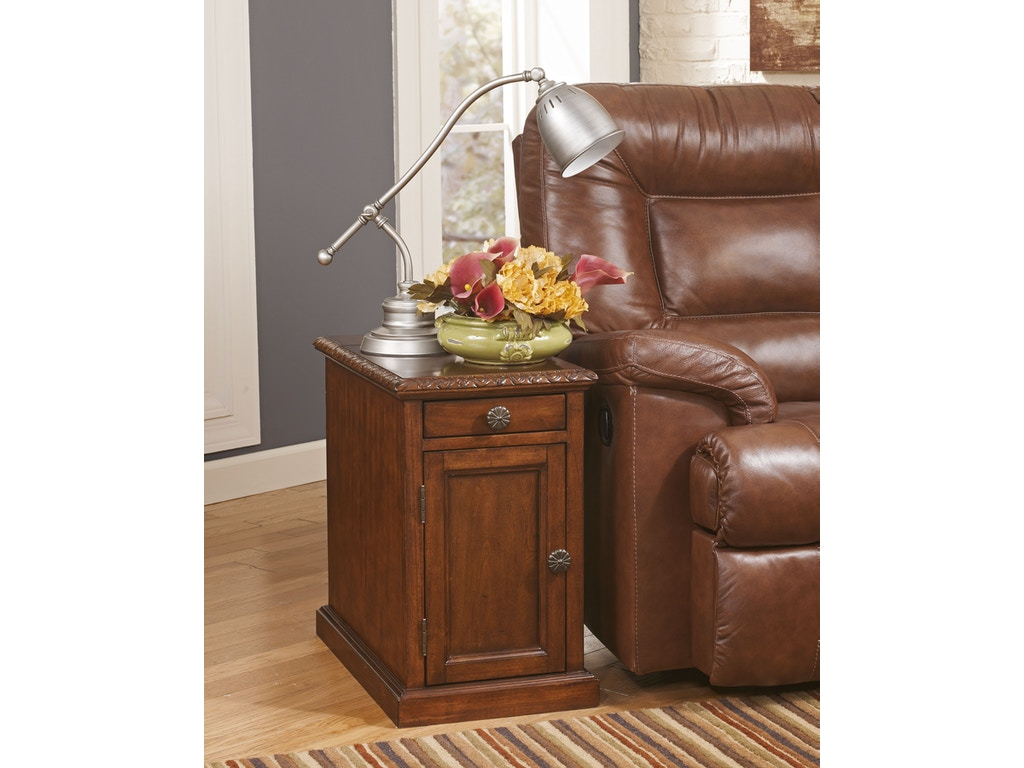 Hansen 39 S Exclusives Living Room Chair Side End Table 309101046 Hansens Furniture Modesto And