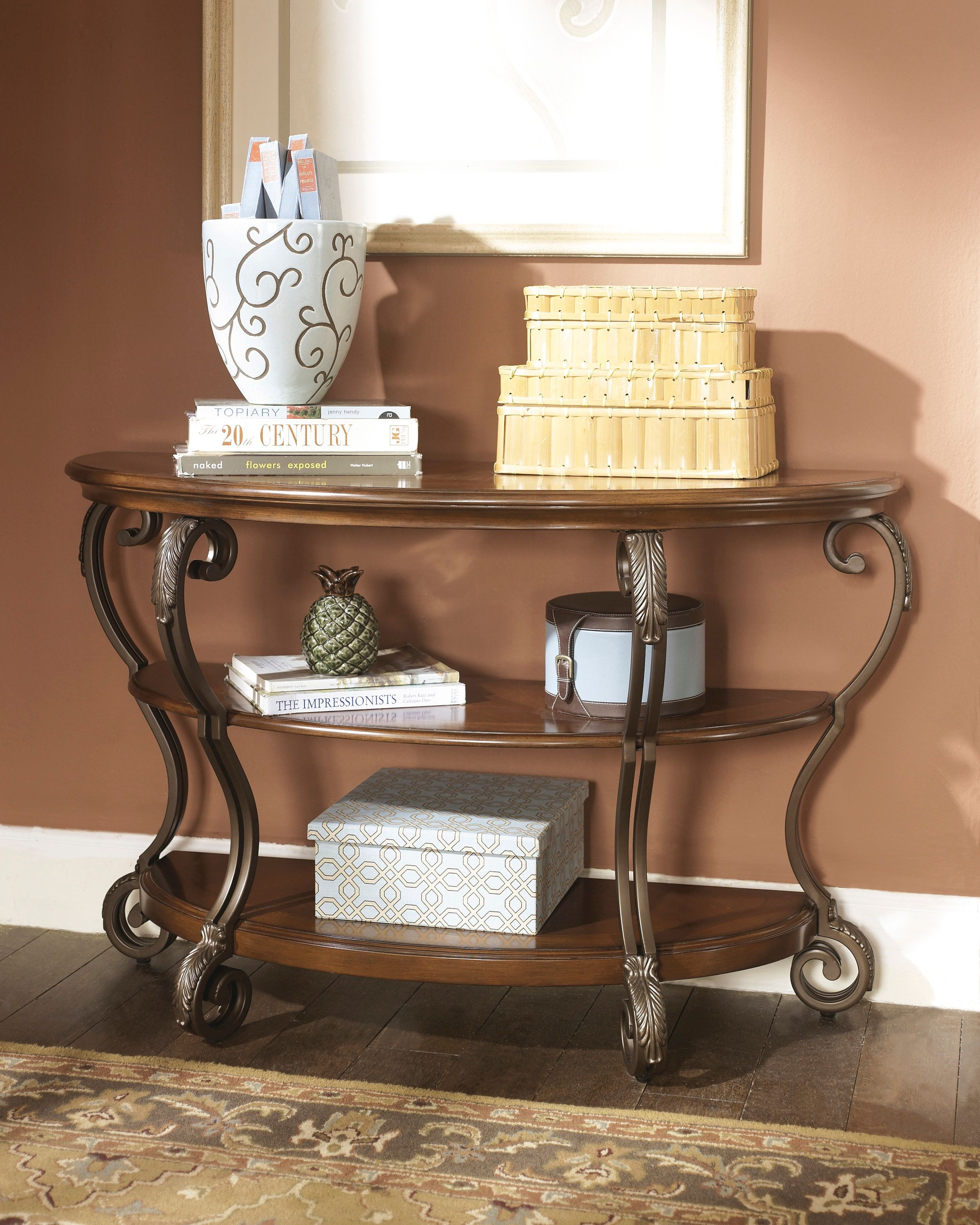 Signature Design by Ashley Living Room Sofa Table T517 4