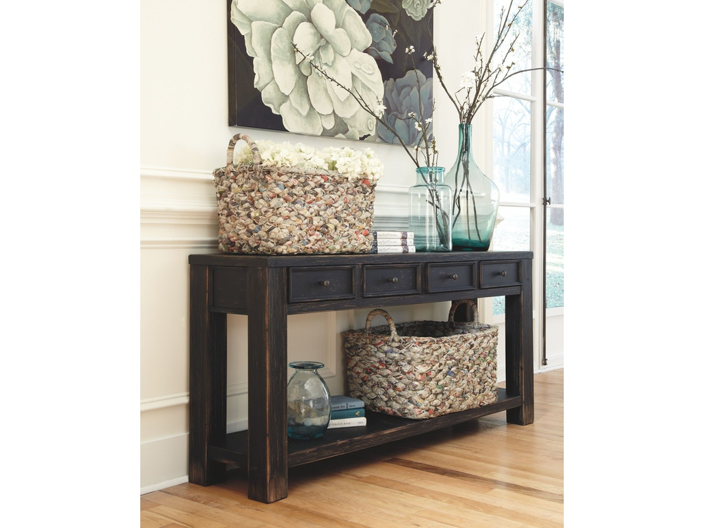 Signature Design By Ashley Living Room Sofa Table T732 4 Valley Furniture Company Havre Mt