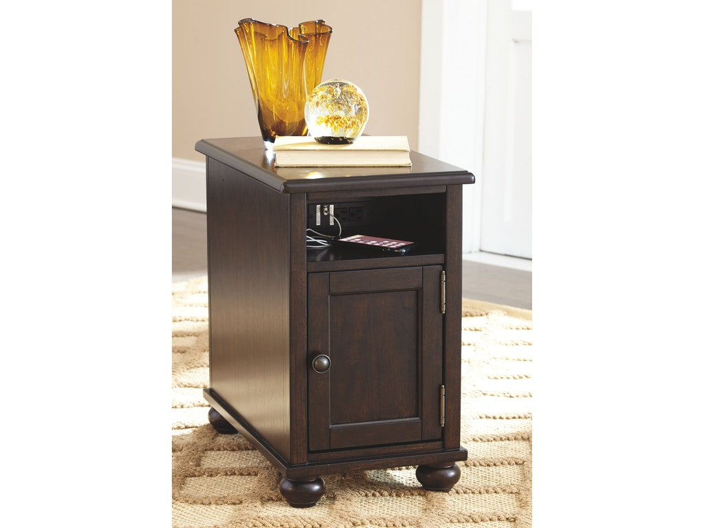 Signature Design By Ashley Living Room Chair Side End Table T934 7 D Noblin Furniture Pearl