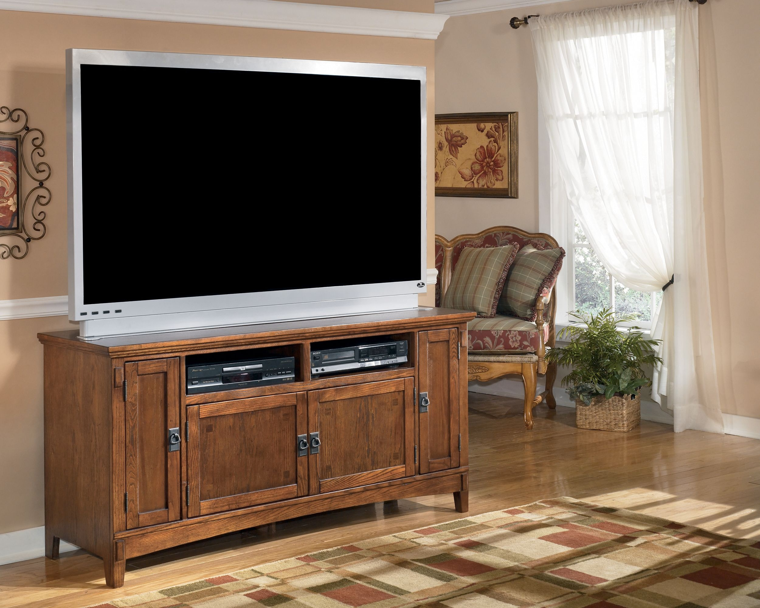 Signature Design By Ashley Home Entertainment Large TV Stand W319 38   Turner  Furniture Company   Avon Park And Sebring, FL