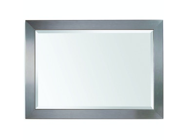 Bassett Mirror Company Accessories Stainless Wall Mirror