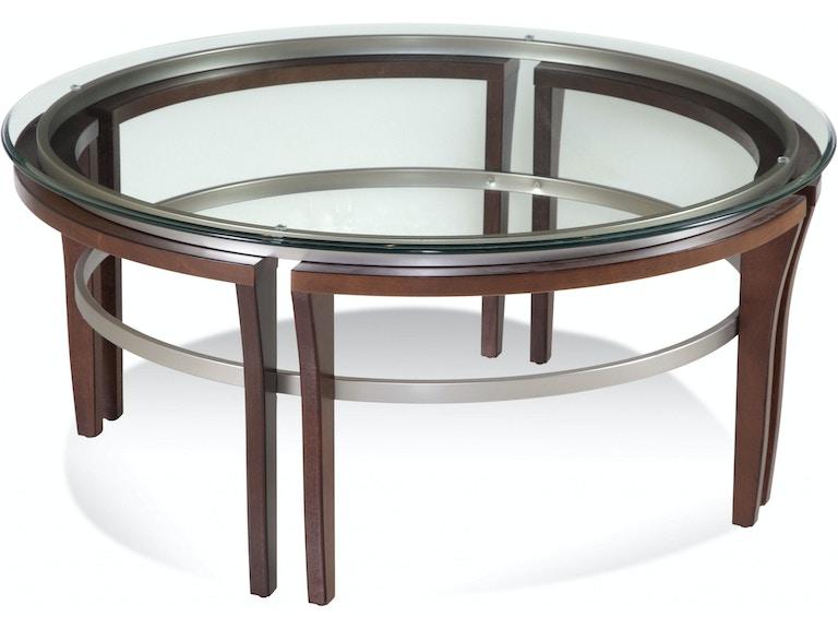 Bassett Mirror Company Living Room Fusion Rd Cocktail 8116 120 911