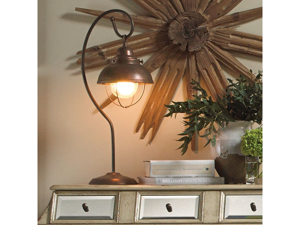 Bassett Mirror Company Lamps And Lighting Alleghany Table