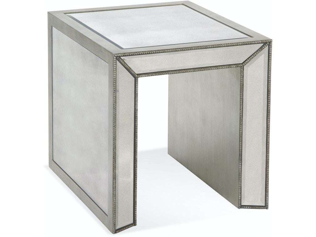 bassett mirror company living room murano rect end t2624