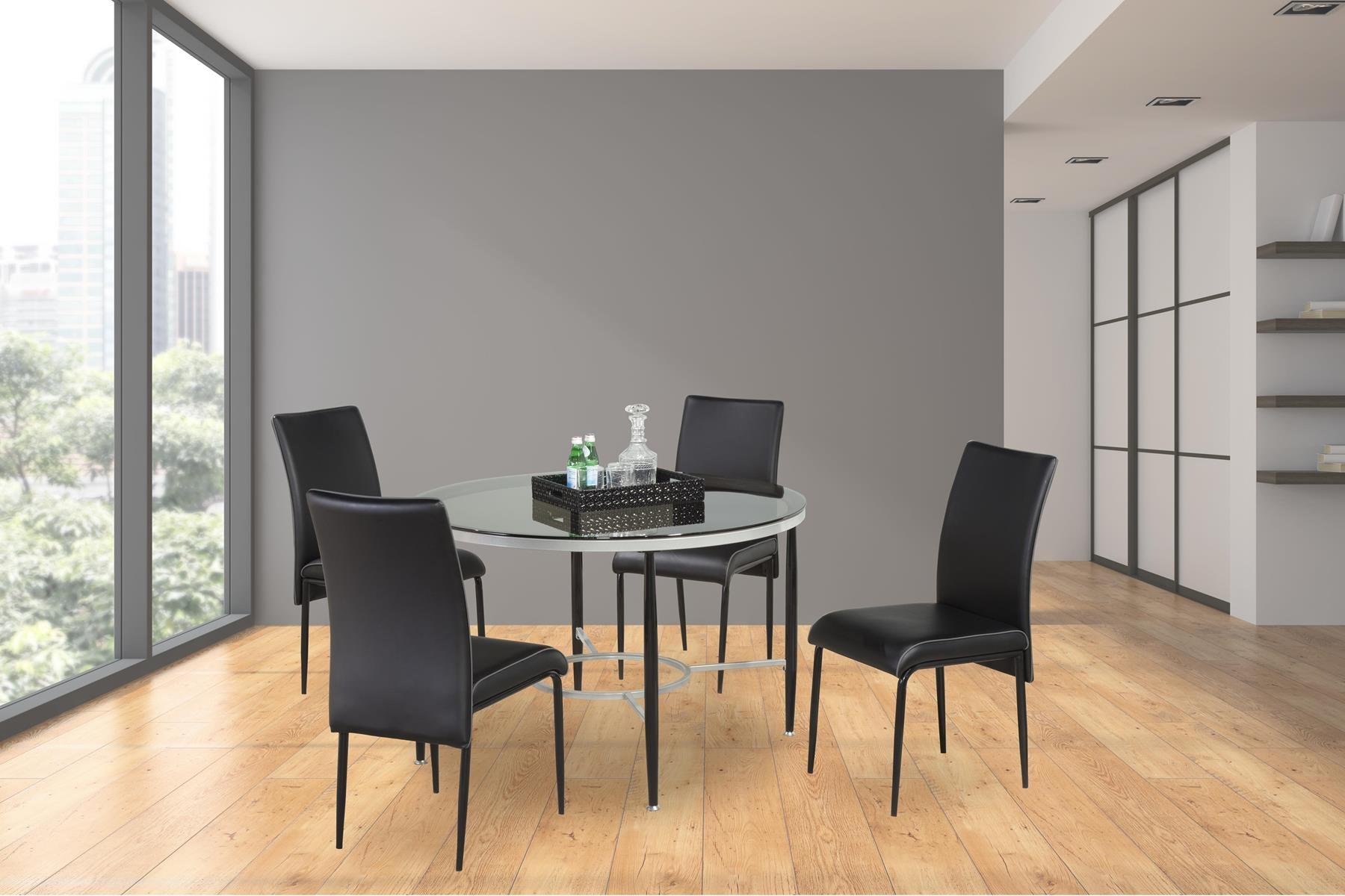 Bernards Dining Room Athena Casual Dining Table 4504 Gilliam
