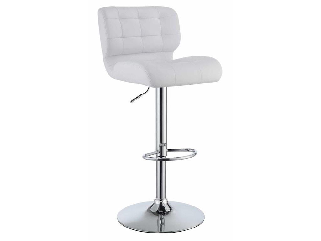 Coaster Bar and Game Room Adjustable Bar Stool 100546 - Schmitt ...