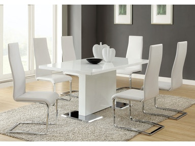 Coaster White Dining Chair 100515WHT