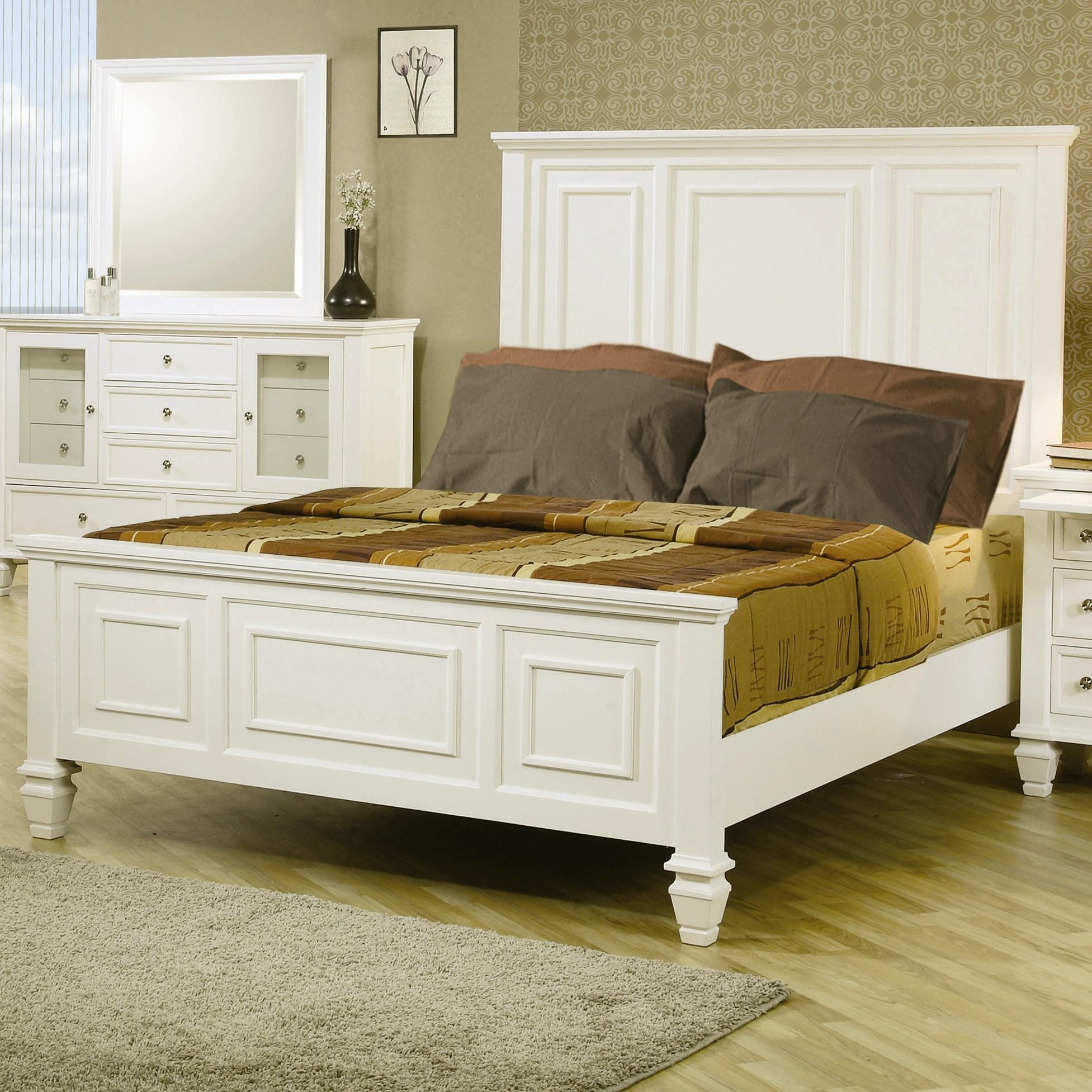 coaster bedroom queen bed 201301q simply discount
