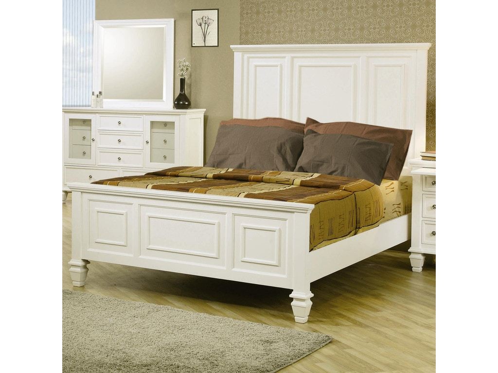 Coaster bedroom queen bed 201301q factory direct for Factory direct bedroom furniture