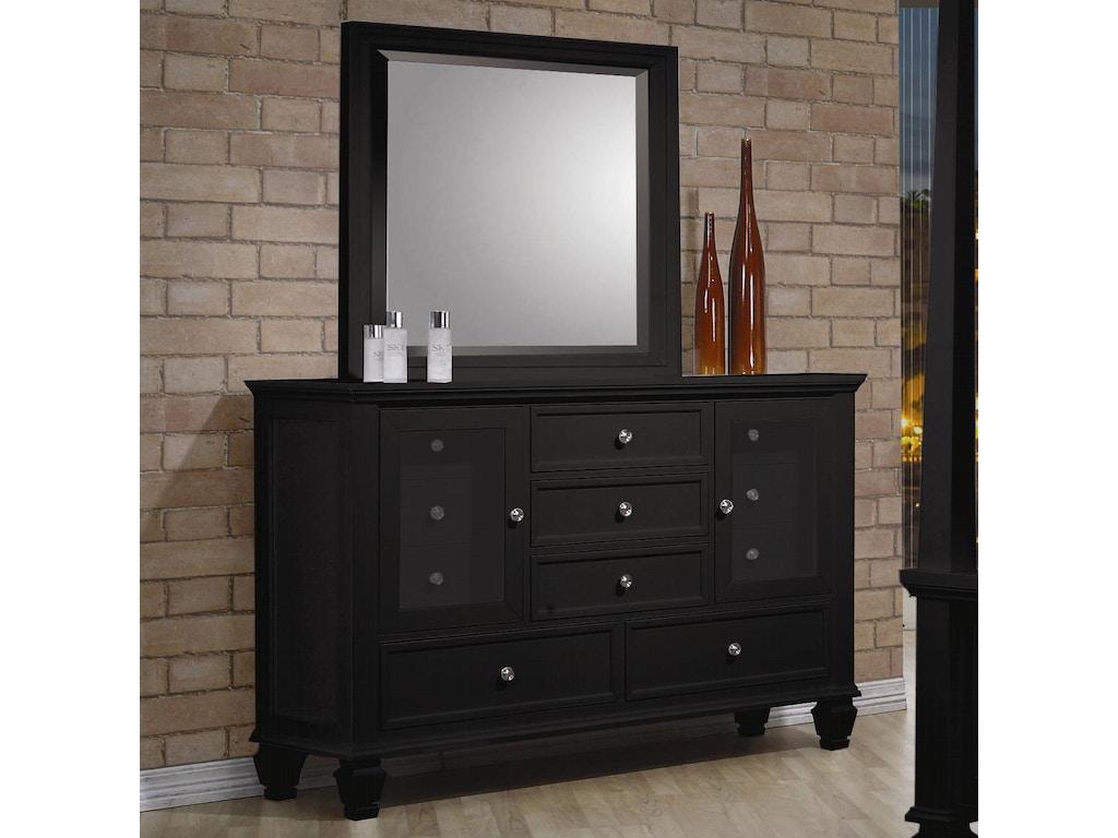 Coaster bedroom dresser 201323 hickory furniture mart for Bedroom furniture hickory nc