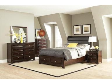 Coaster 4 Piece Queen Bedroom Set 203481Q-S4 - A&W Furniture ...