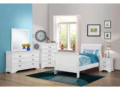 Coaster Youth 5 Piece Twin Bedroom Set 204691T-S5 - A&W ...