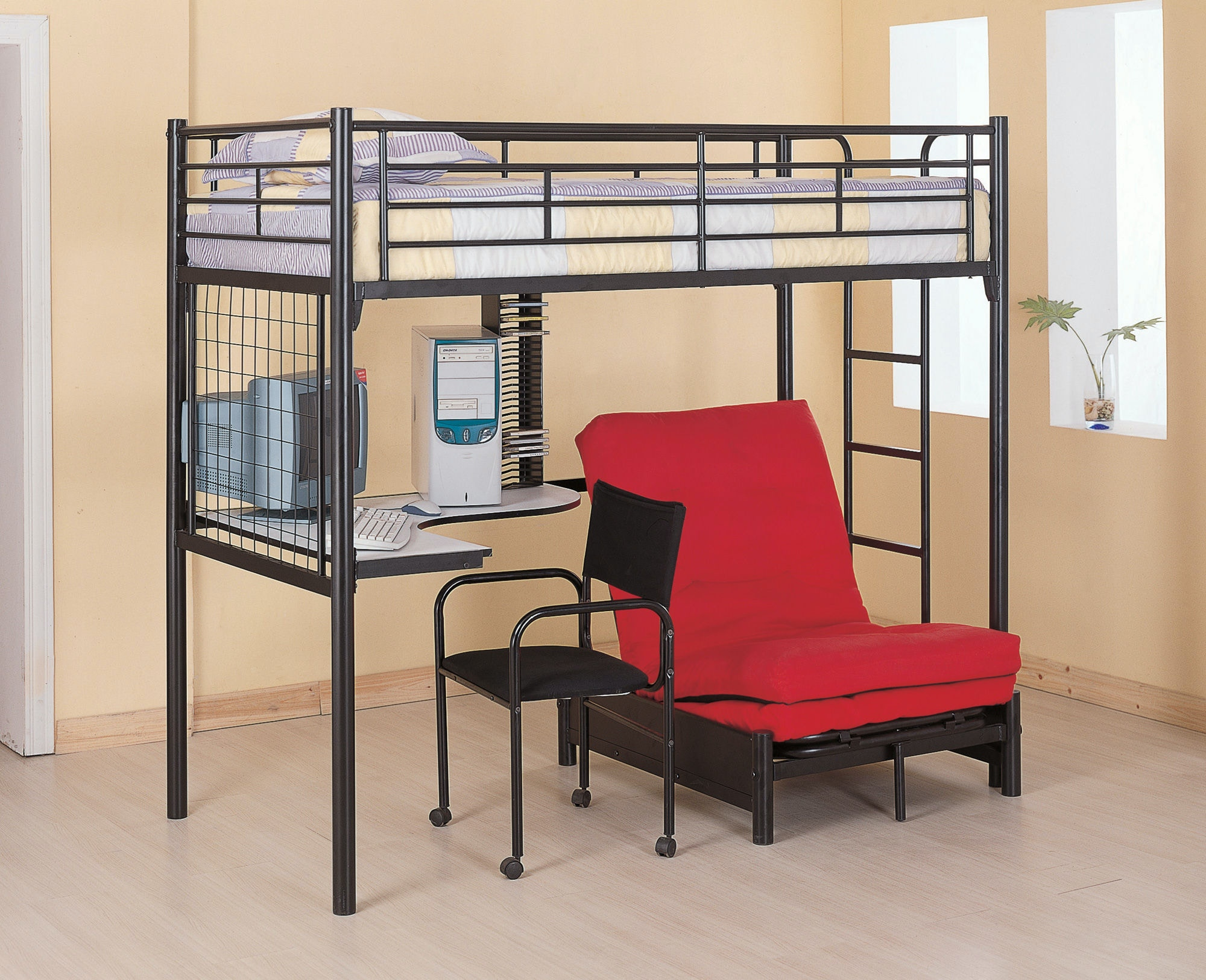 Coaster youth bedroom bunk bed 2209 factory direct for Factory direct bedroom furniture