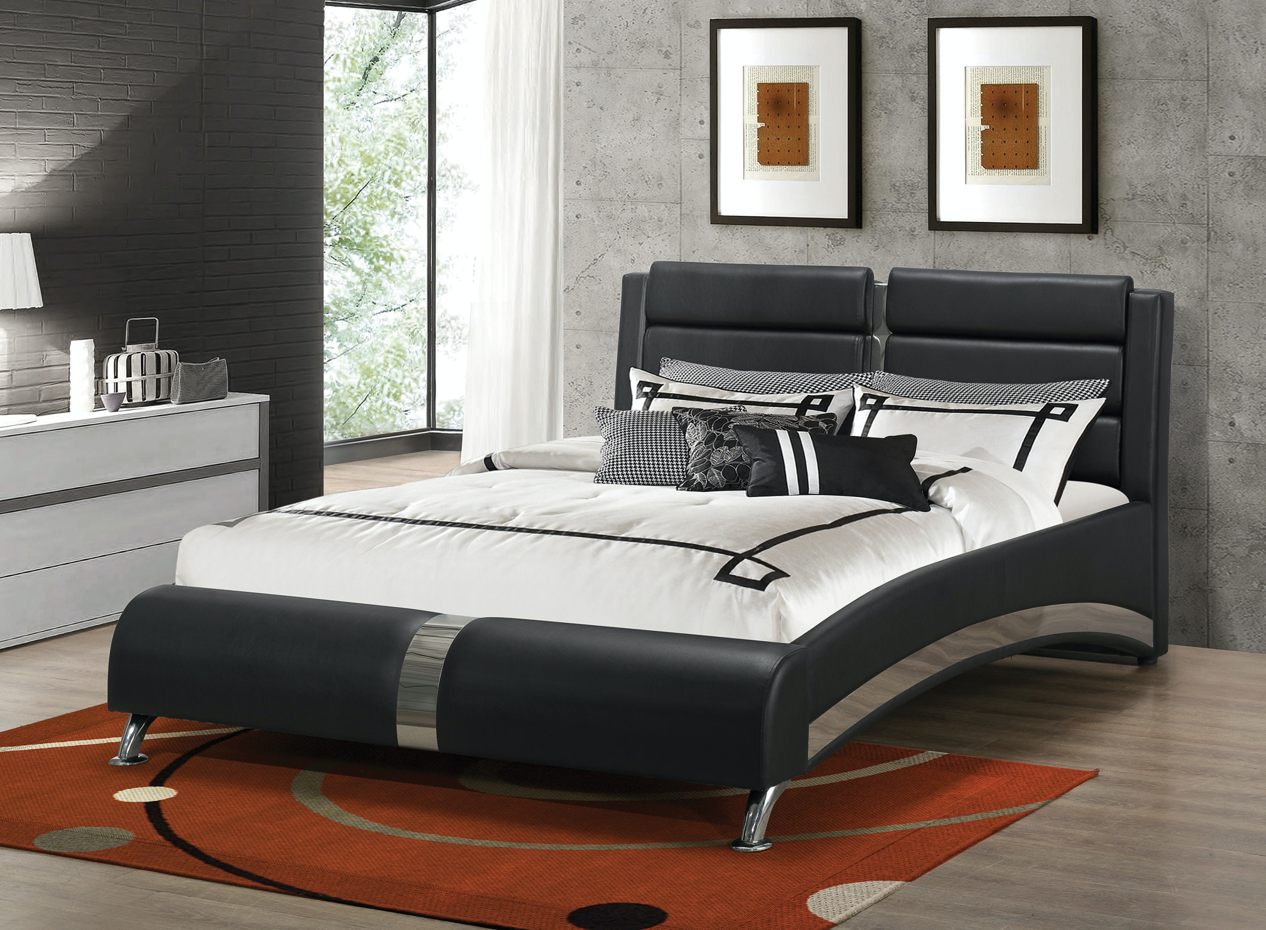 Coaster Bedroom Queen Bed 300350q Haynes Brothers Volusia County