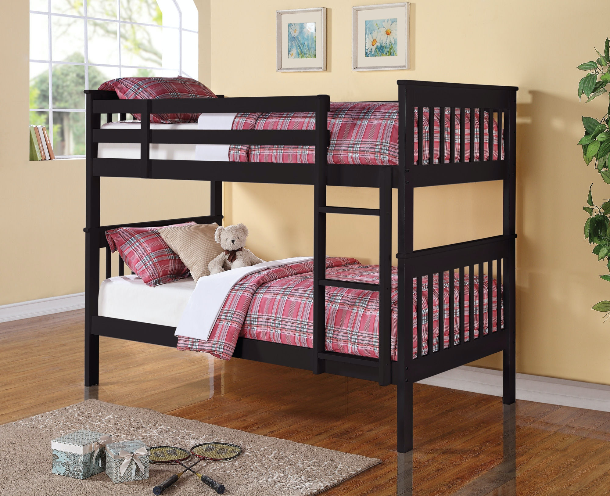 coaster youth bedroom bunk bed 460234 home decor