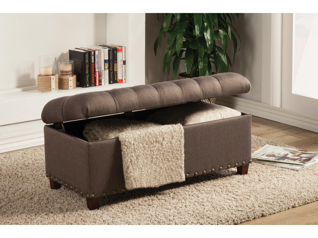Coaster Living Room Bench  Adams Furniture Huntsville TX - Livingroom bench