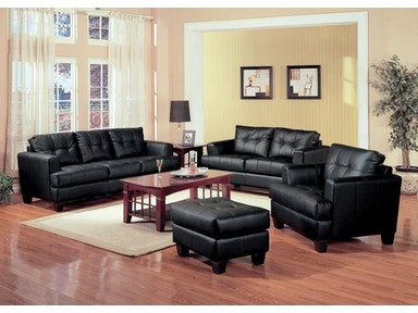 Coaster Living Room Set Includes:  2pc (Sofa Love) 501681-S2