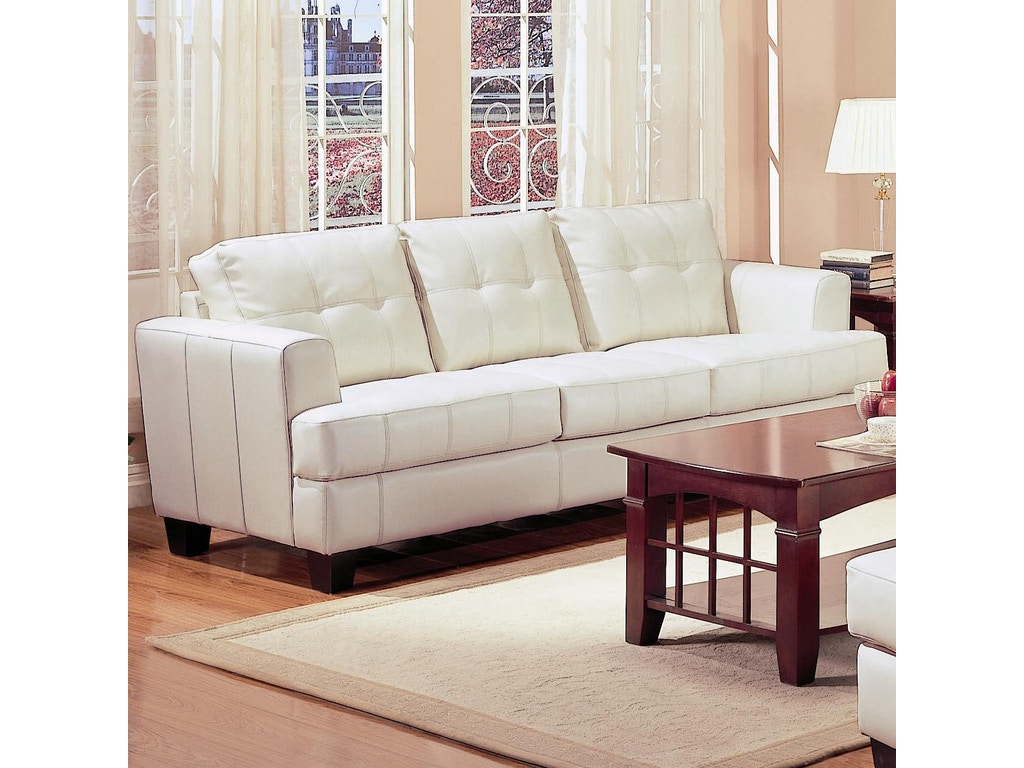 Coaster living room sofa 501691 simply discount for Living room discount furniture