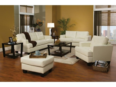 Coaster Living Room Set Includes:  2pc (Sofa Love) 501691-S2